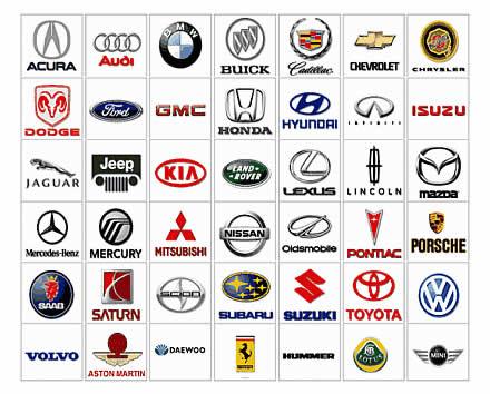 Marcas de autos logos
