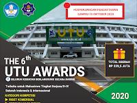 UTU Awards International Competition 2020, Hadiah 229,5 Jt