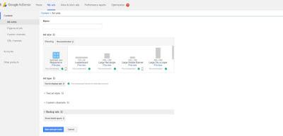 google adsense типы рекламных объявлений на сайте и блоге