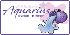 Zodiak Aquarius | MPASI Bunda