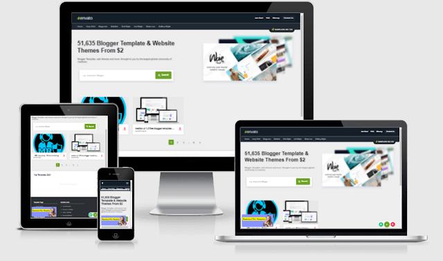 envato responsive premium blogger template  free download
