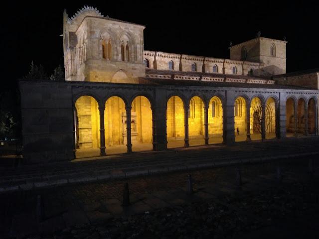 basílica de San Vicente Avila