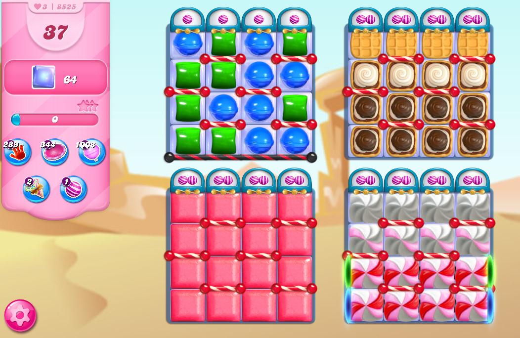 Candy Crush Saga level 8525