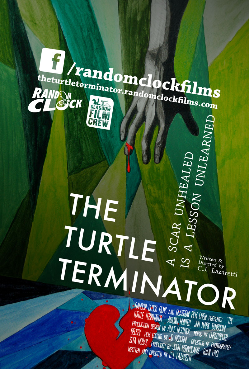 "Watch C.J. Lazaretti's short film ""The Turtle Terminator"" at the 2017 Glasgow Short Film Festival"