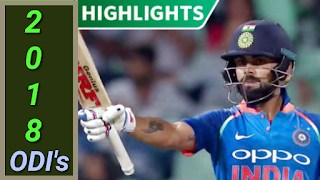 2018 ODI's Matches Highlights Online