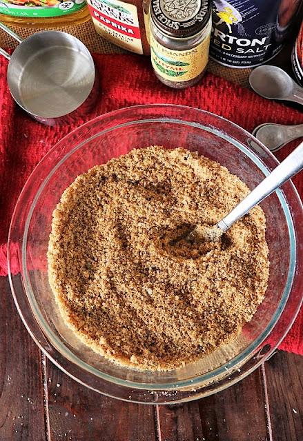 Mixing Bowl of Homemade Shake & Bake Image