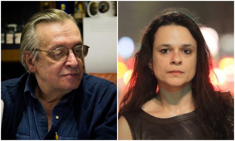 'OLAVO DE CARVALHO ACABOU', DIZ JANAINA PASCHOAL