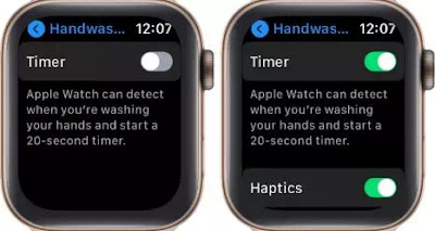 Cara Menggunakan Fitur Handwashing di Apple Watch (watchOS 7)-2