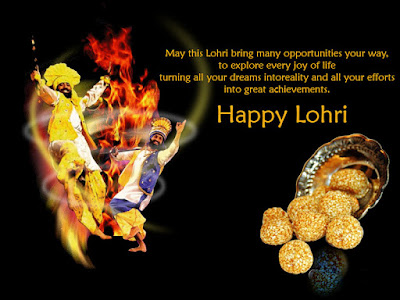 Happy Lohri Greetings for Relatives