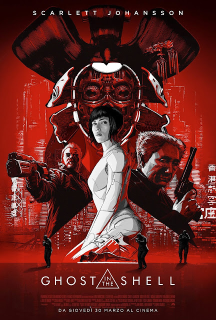 Ghost in the Shell recensione poster