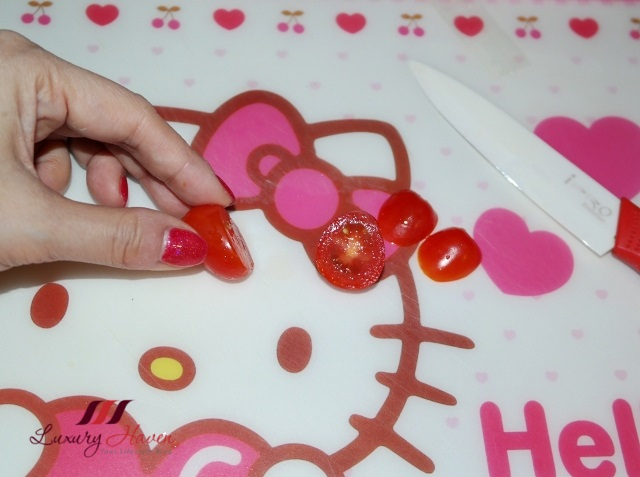 valentines day heart shaped tomato recipe