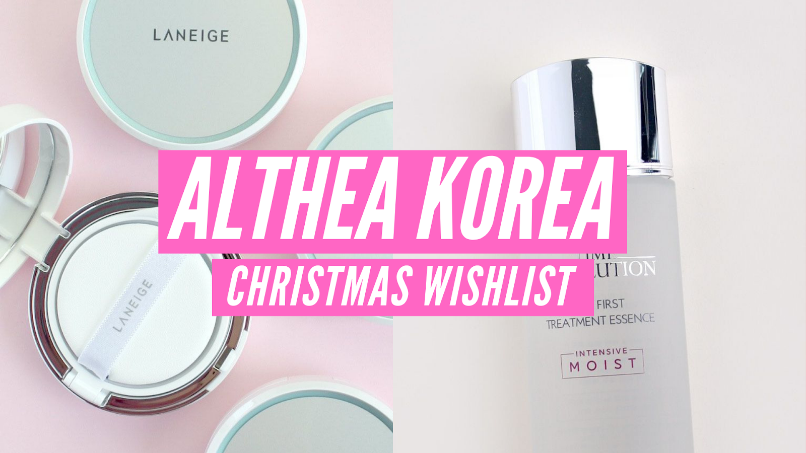 All I want for Christmas: My Althea Korea Christmas Wishlist
