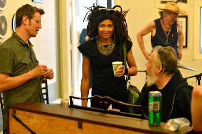 Luther Dickinson, Valerie June,  Jimbo Mathus, Rick Steff