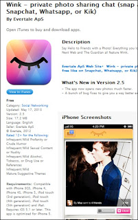 Picture Sharing App - Wink