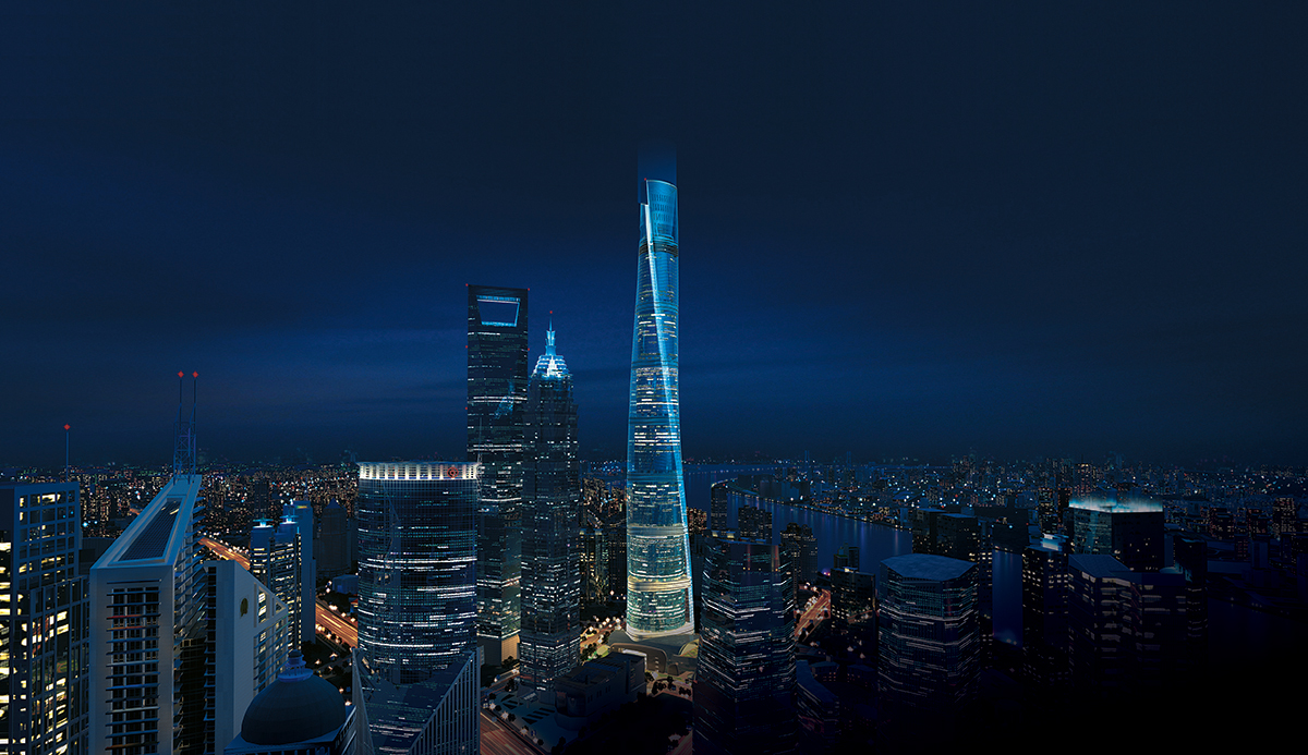 asiantowers  shanghai tower