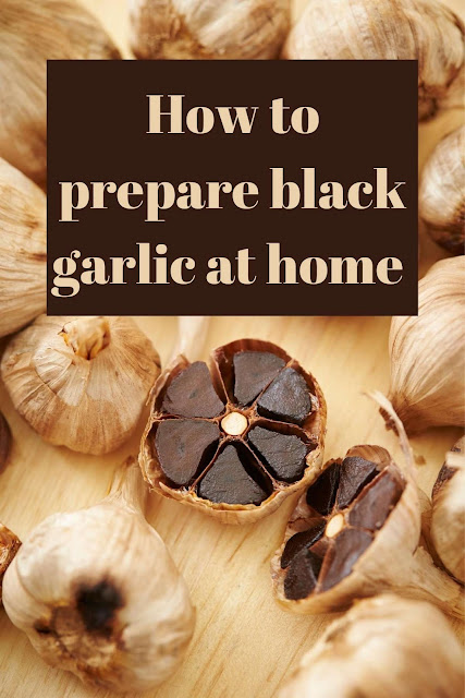 how to prepare black garlic at home