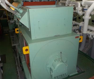 Выбор генераторов судовой электростанции