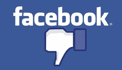 Nuevos fallos de funcionamiento en Facebook