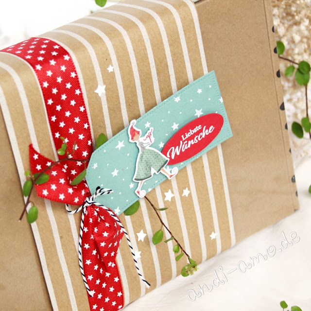 Geschenkidee: Stampin Up Kreativ-Set Verspielte Weihnachten