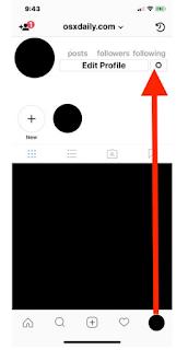 Cara Menonaktifkan Status Aktivitas Online di Instagram saat Anda Menggunakan Aplikasi instagram