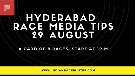 Hyderabad Race Media Tips 29 August