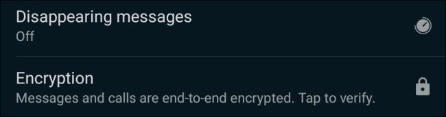 اختفاء خيار الرسائل على WhatsApp