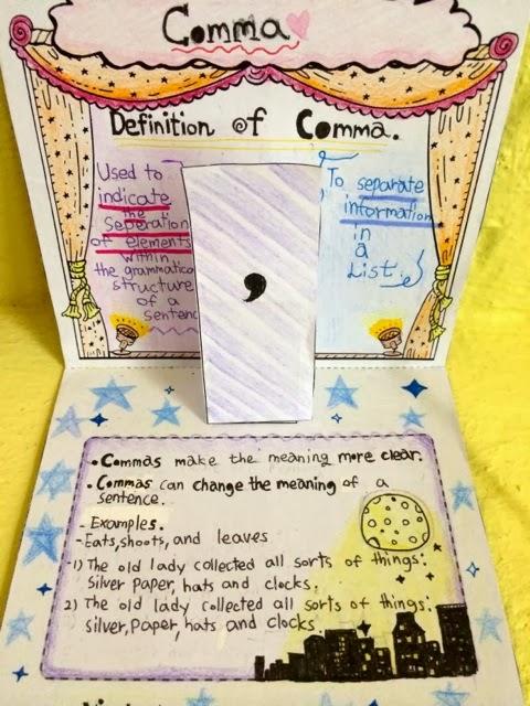 Pop Up Punctuation Talks With Teachers