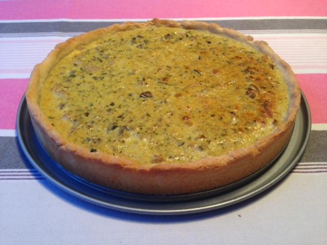 miam, maman j'ai faim!: tarte au thon et pesto d'aubergine