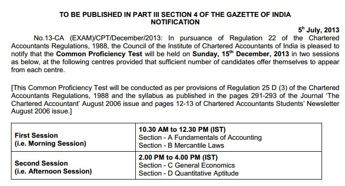 CA CPT-Dec 2013-Notice