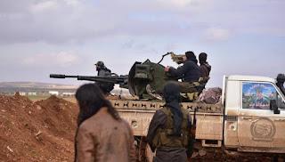 Operasi Istisyhad HTS Hantam Posisi Militer Rezim Syiah Nushairiyah di Hama