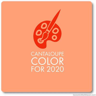 2020 new key colour Cantaloupe