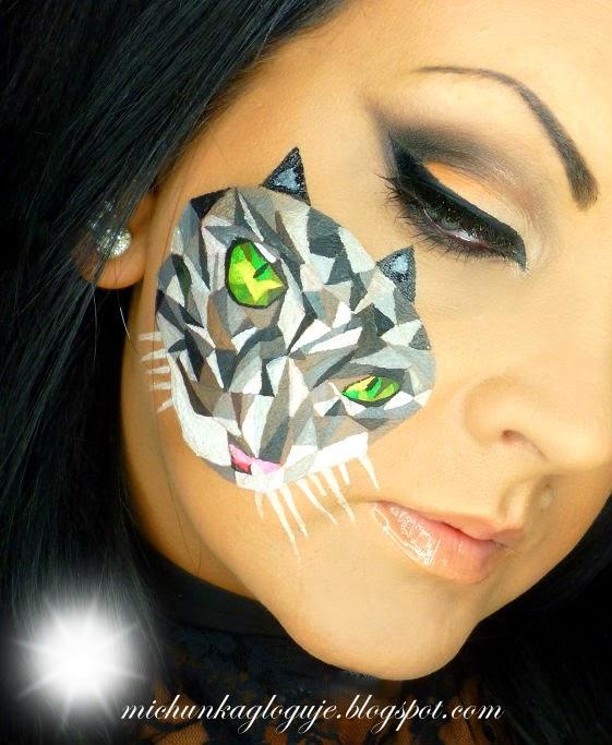 Podążając Za Pięknem Makijaż Geometryczny