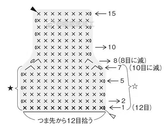 Пинетки-кеды крючком. Схемы вязания (6)
