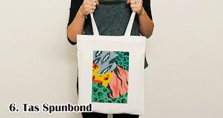 Tas Spunbond merupakan salah satu rekomendasi souvenir kekinian yang tepat untuk anak muda