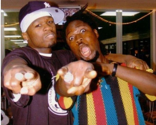 SEE This Major Throwback Photo of Daddy Showkey and 50 Cent