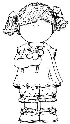 Mi colección de dibujos: ♥ Nenas