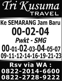 Jadwal Travel Purwokerto