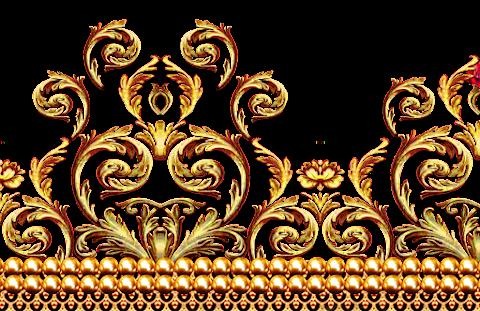 Jwellery-border-for-textile-print-7010