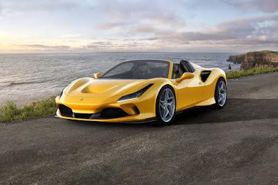 Ferrari, yellow Ferrari