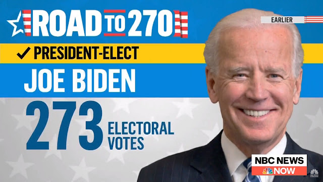 Joe Biden es el presidente electo de EEUU