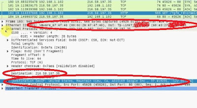 Wireshark atumatically lookup for IP and MAC resolution