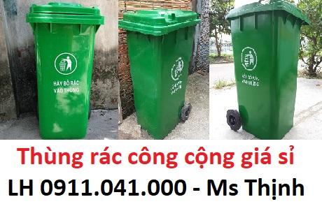 Toàn quốc - Thùng rác nhựa giá rẻ sỉ lẻ số lượng lớn lh 0911.041.000 Dubacachii
