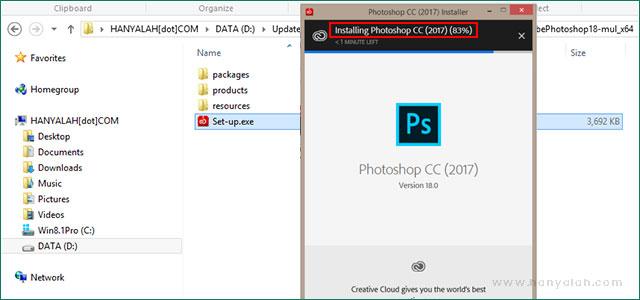 [Panduan Pemula] Cara Baru Install Aplikasi Adobe Photoshop CC 2017