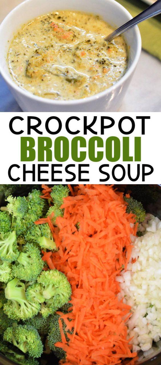 Crockpot Broccoli Cheese Sòup