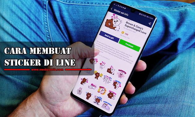 Cara Membuat Sticker di Line