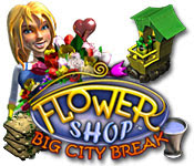 เกมส์ Flower Shop - Big City Break