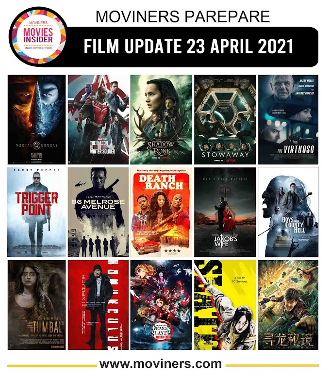 FILM UPDATE 23 APRIL 2021