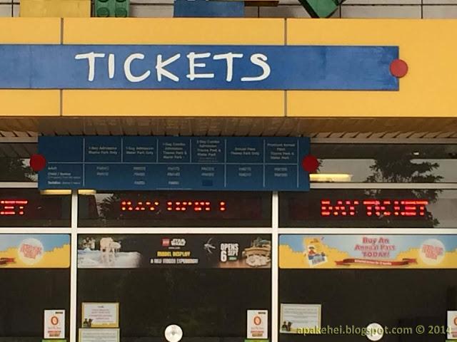 Tickets Legoland