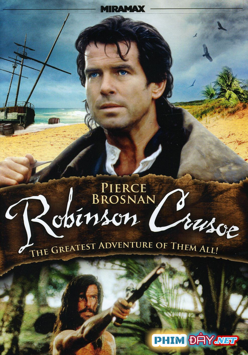 Robinson Trên Đảo Hoang - Robinson Crusoe (1997)