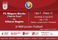 FC Magura 2012 Bacau - ACS Viitorul Reghin